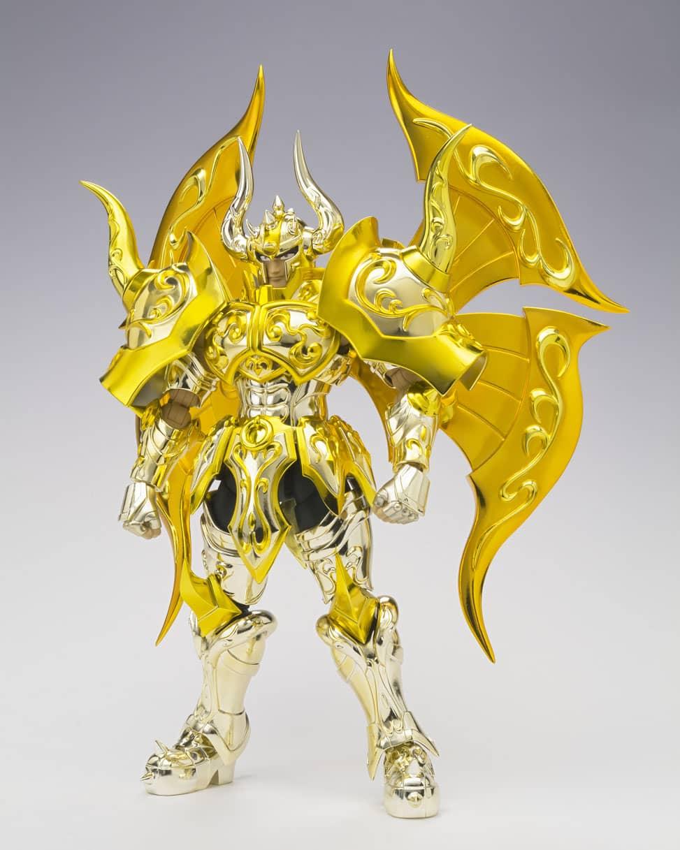 ALDEBARAN TAURO GOD NEW CLOTH FIGURA 20 CM SAINT SEIYA SAINT CLOTH MYTH EX SOUL OF GOLD