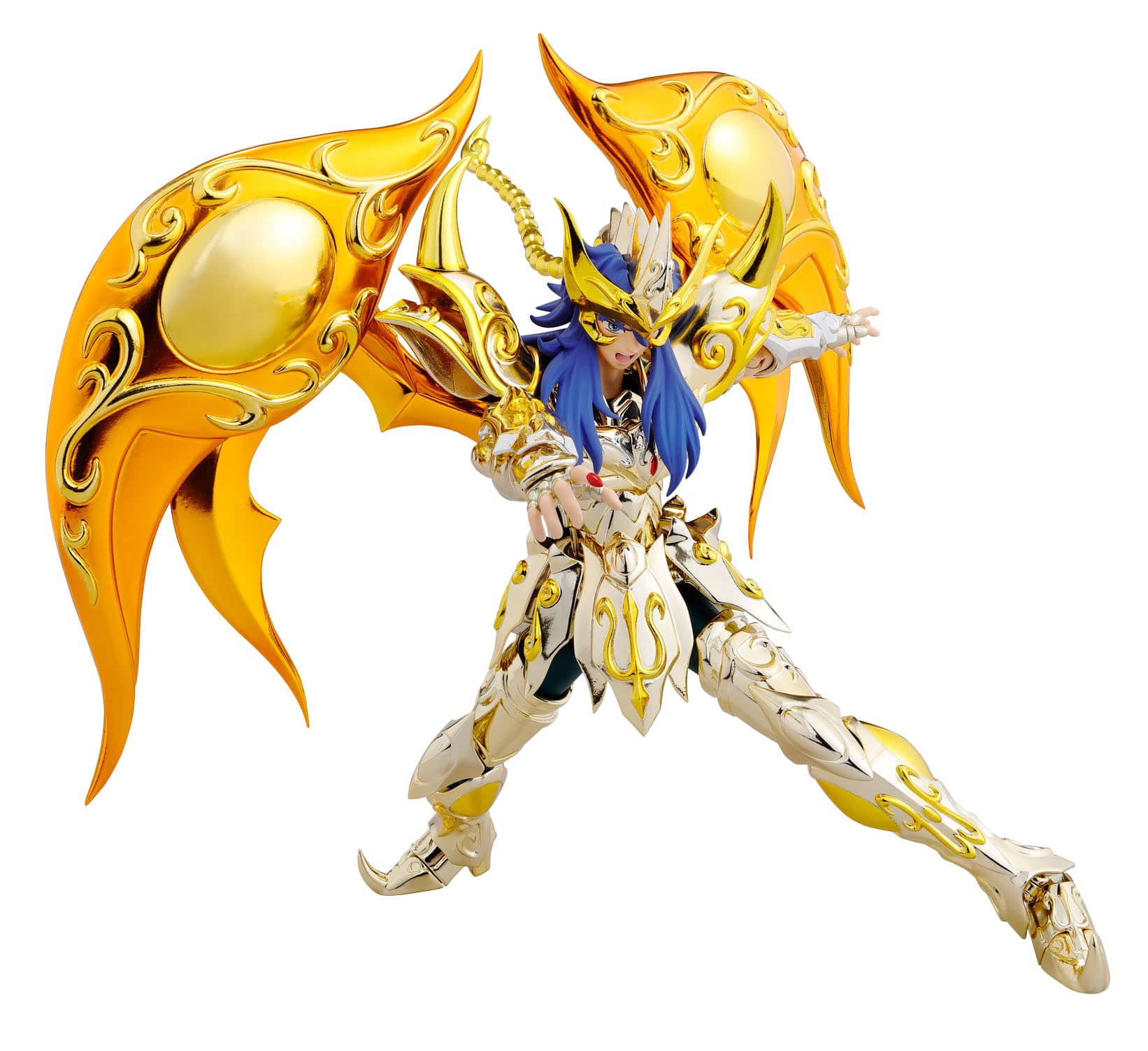 MILO SCORPIO NEW CLOTH FIGURA 18 CM SAINT SEIYA SAINT MYTH CLOTH EX SOUL OF GOLD