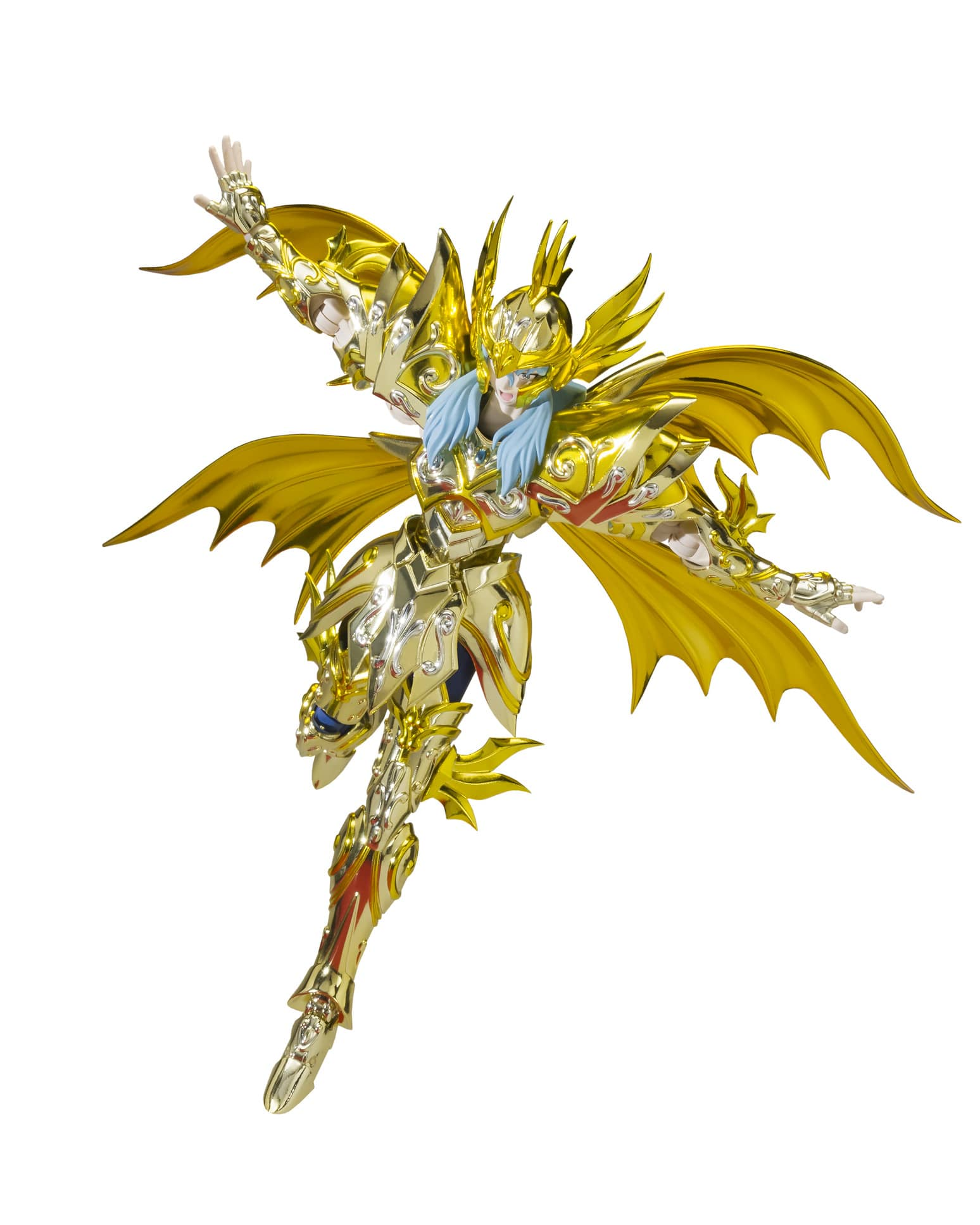 AFRODITA PISCIS NEW CLOTH FIGURA 18 CM SAINT SEIYA SAINT CLOTH MYTH EX SOUL OF GOLD