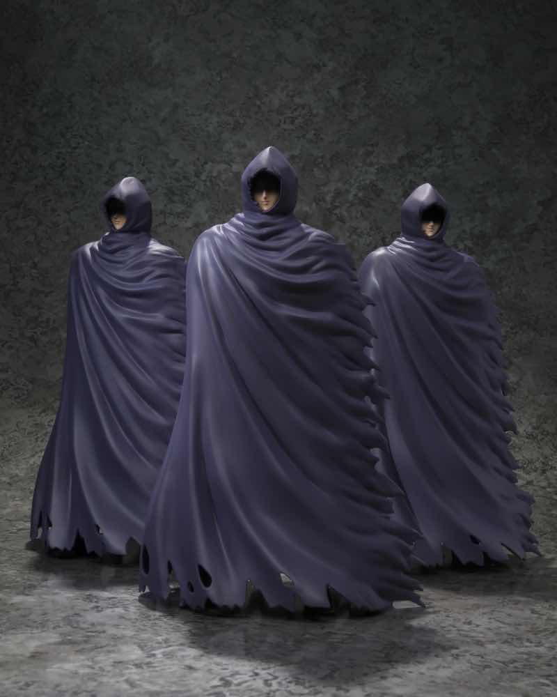 MISTERIOUS SURPLICE SET 3 FIGURAS 18 CM SAINT SEIYA MYTH CLOTH EX