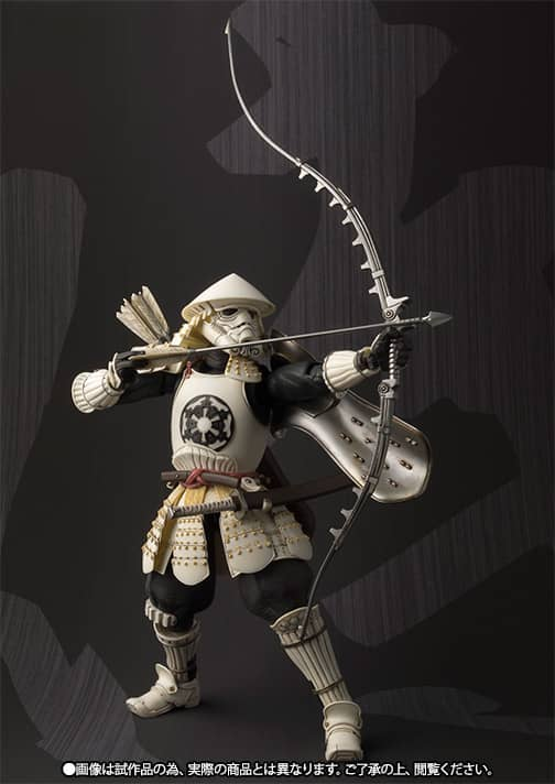 STORMTROOPER ARQUERO YUMI ASHIGARU FIGURA 17 CM STAR WARS MEI SHO MOVIE REALIZATION
