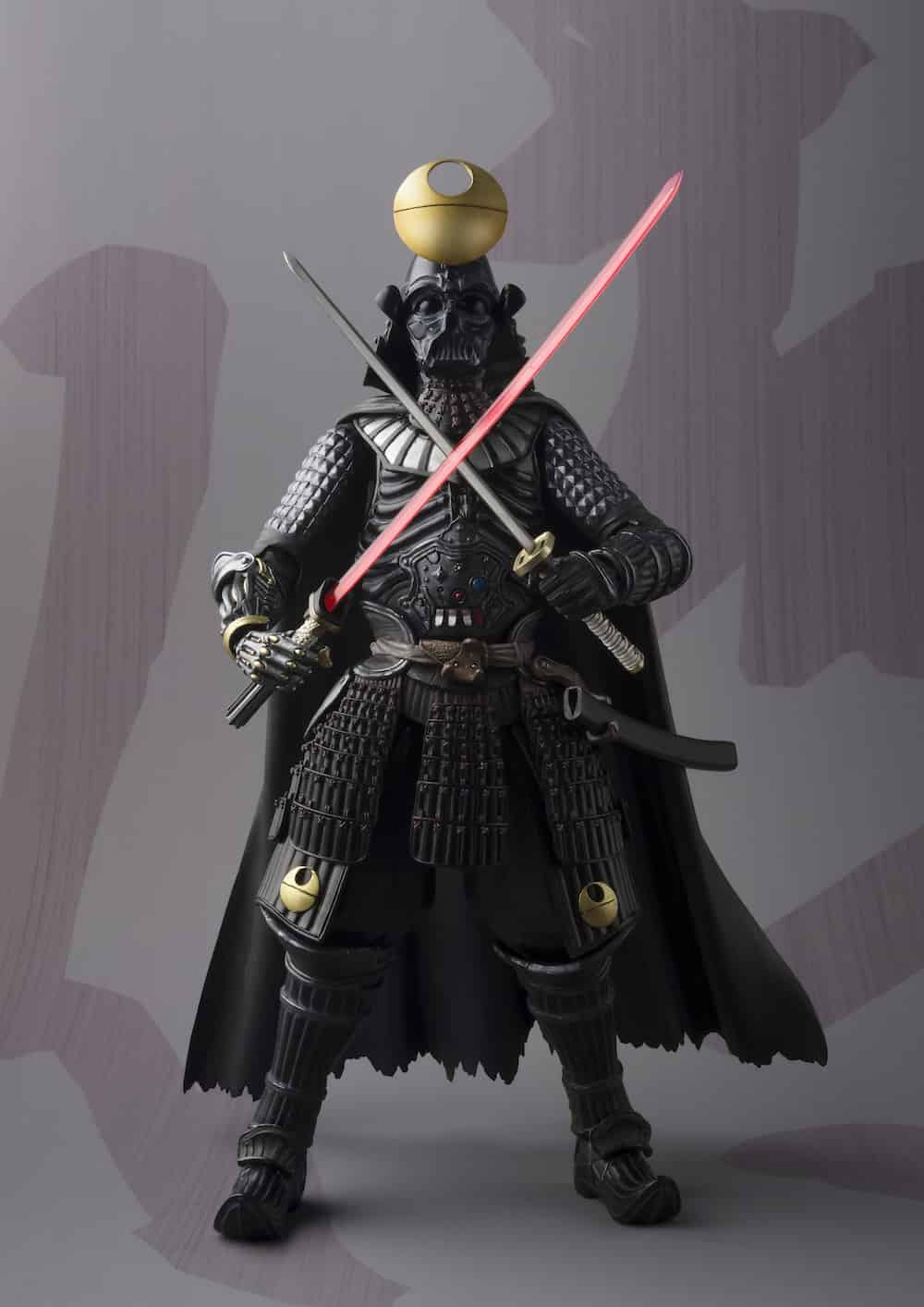 SAMURAI TAISHO DARTH VADER DEATH STAR VERSION FIGURA 18 CM STAR WARS MEI SHO MOVIE