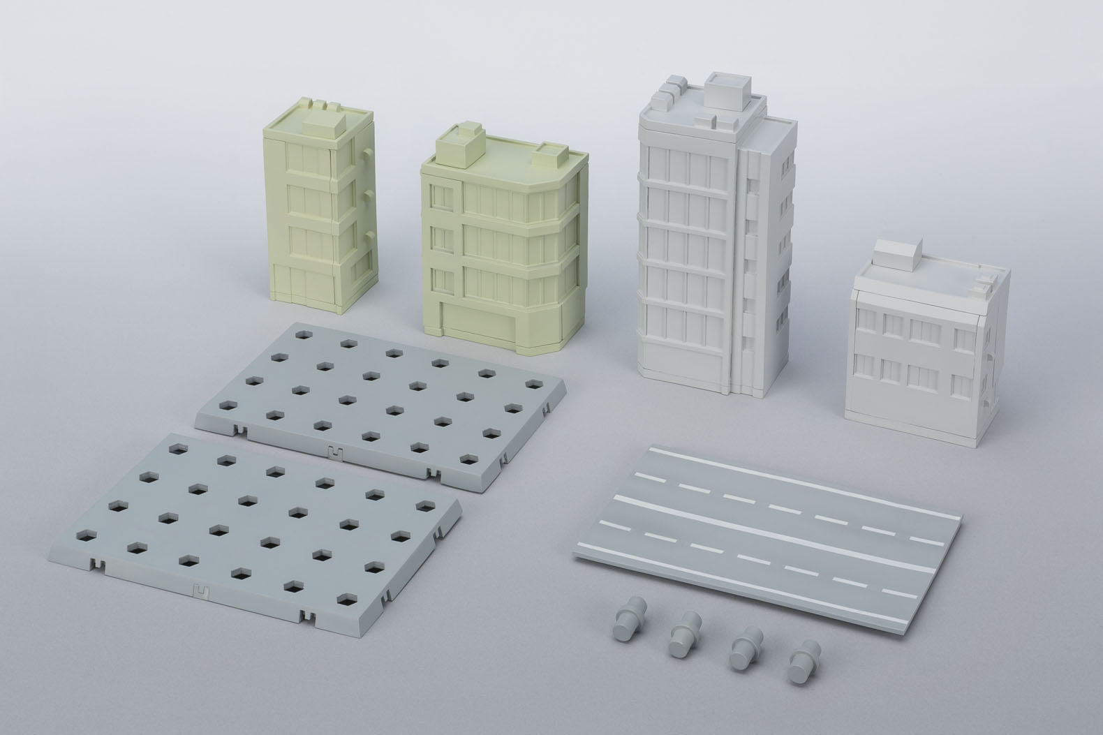 ACT BUILDING EDIFICIOS SET TAMASHII OPTION