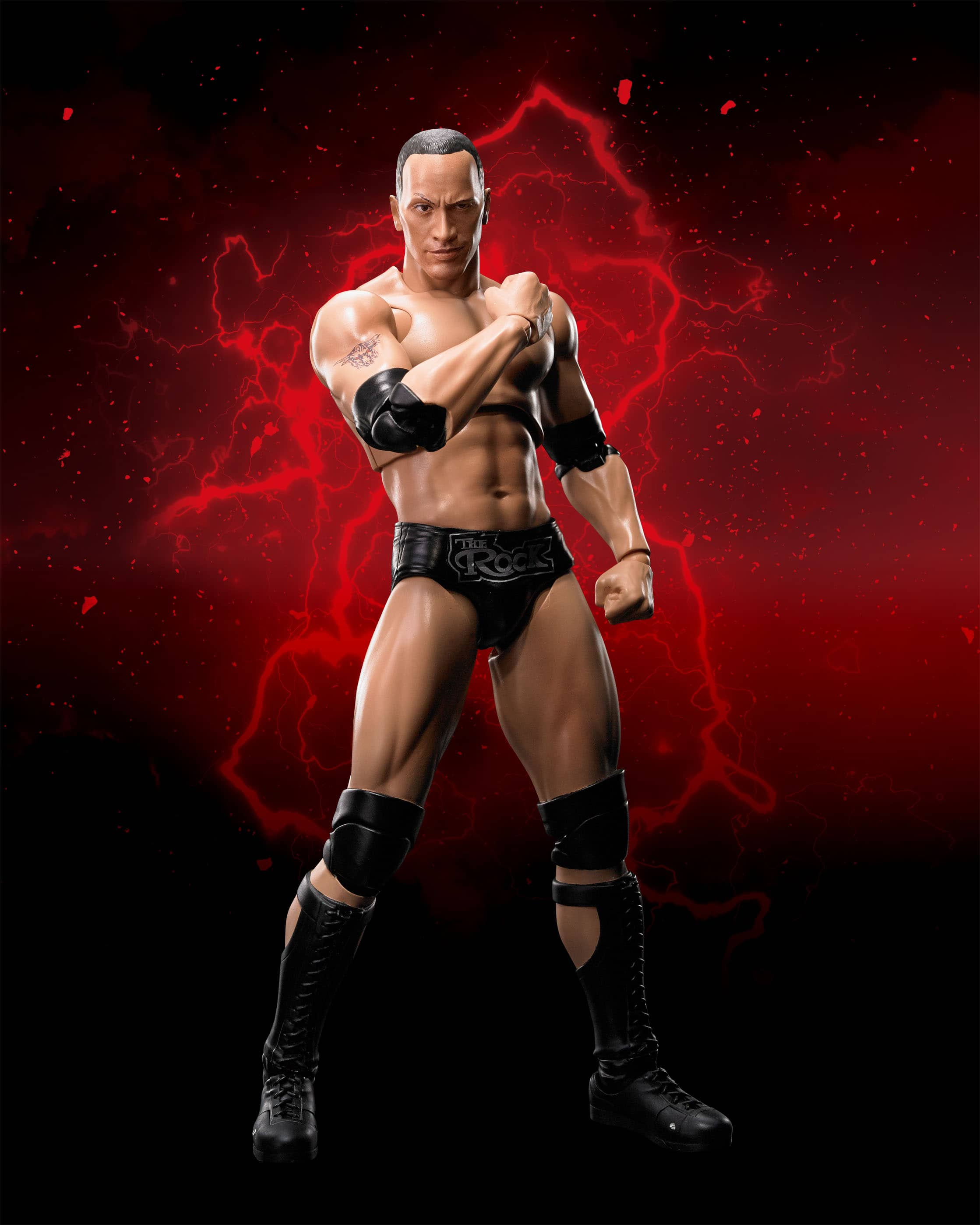 THE ROCK FIGURA 15 CM WWE SH FIGUARTS
