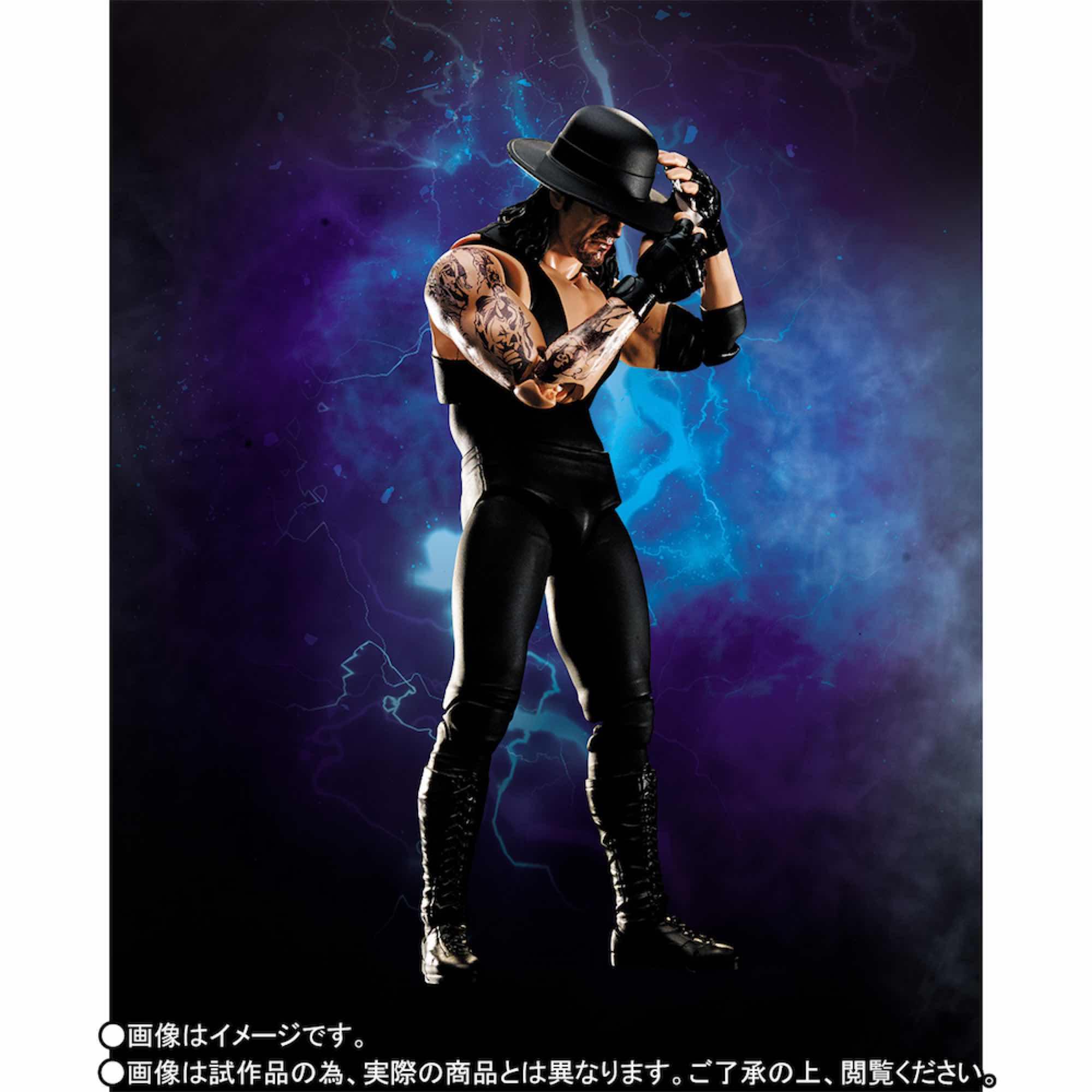 UNDERTAKER FIGURA 15 CM WWE SH FIGUARTS
