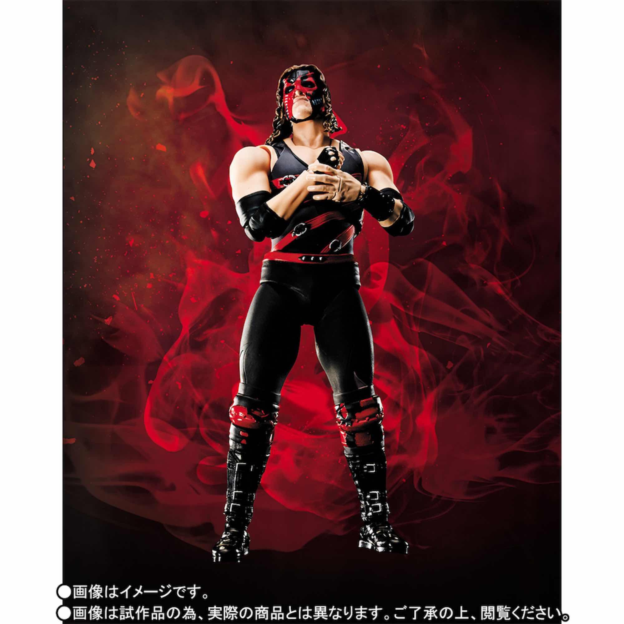 KANE FIGURA 15 CM WWE SH FIGUARTS