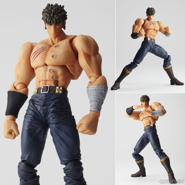 KENSHIRO FINAL BATTLE VER. REVOLTECH FIGURA 15 CM FIST OF THE NORTH STAR KAIYODO