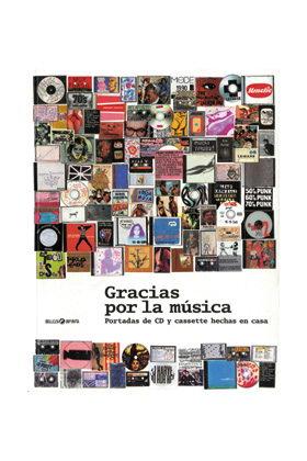 GRACIAS POR LA MUSICA. PORTADAS DE CD Y CASSETTE HECHAS EN CASA