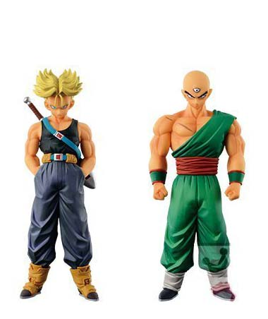 SUPER SAIYAN TRUNKS & TENSHINHAN CHOZOUSYU VOL 6 SET 2 FIGURAS 16 CM DRAGON BALL Z DXF