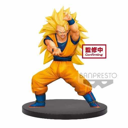 SUPER SAIYAN 3 SON GOKU FIGURA 16 CM DRAGON BALL SUPER CHOSENSHIRETSUDEN VOL. 4