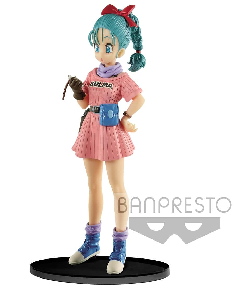 BULMA WITH RADAR FIGURA 16 CM DRAGON BALL SCULTURES