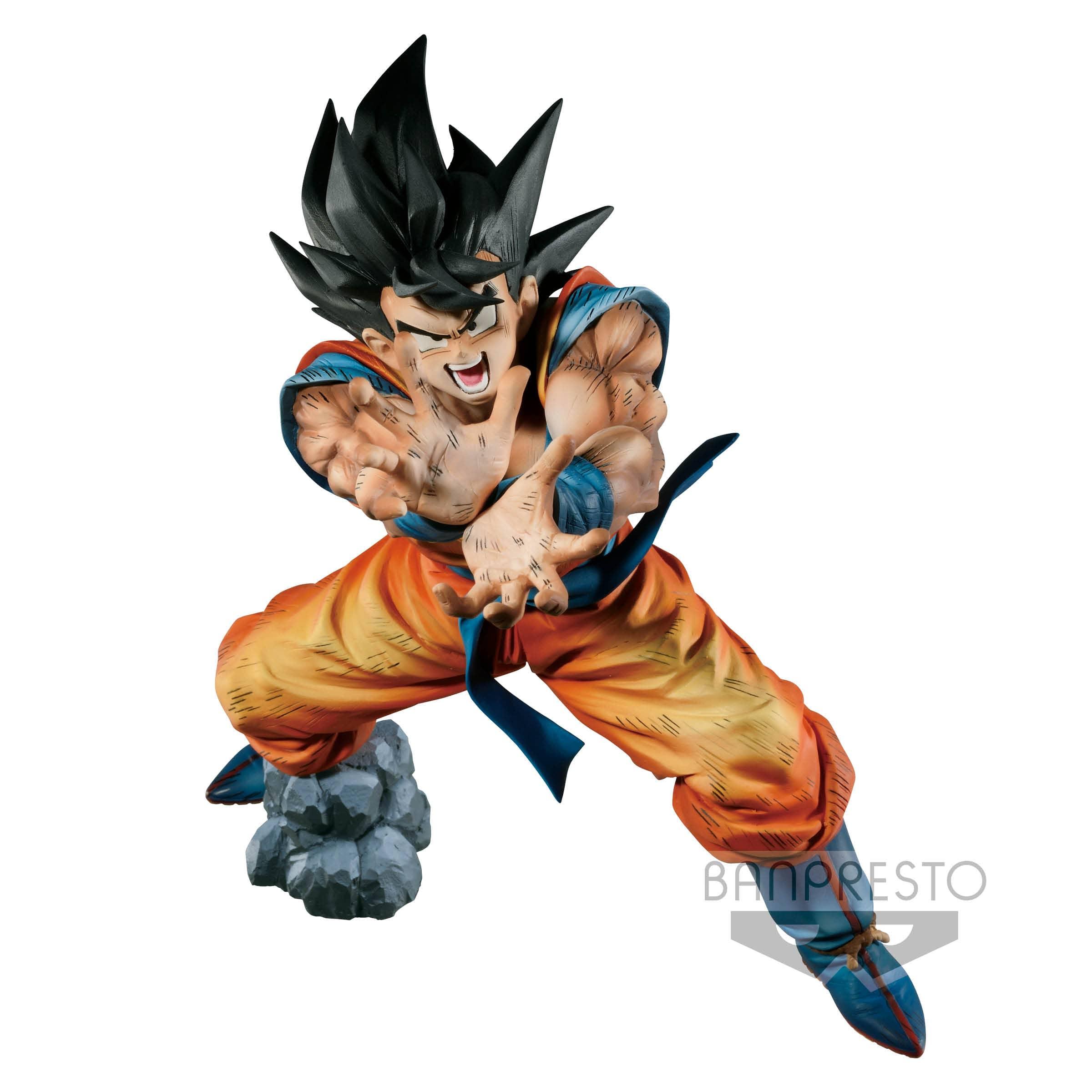 SON GOKU SUPER KAMEHAME-HA PREMIUM COLOR EDITION FIGURA 20 CM DRAGON BALL