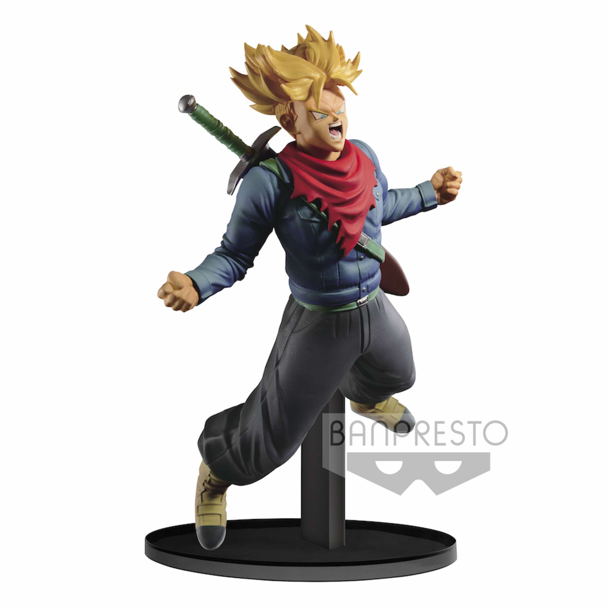 TRUNKS SUPER SAIYAN POWER FIGURA 18 CM DRAGON BALL Z BWFC