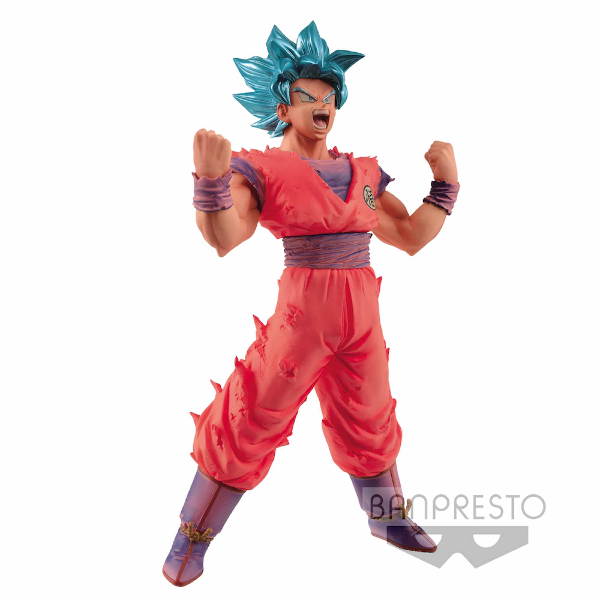 SUPER SAIYAN BLUE GOKU FIGURA 18 CM DRAGON BALL SUPER BLOOD OF SAIYANS