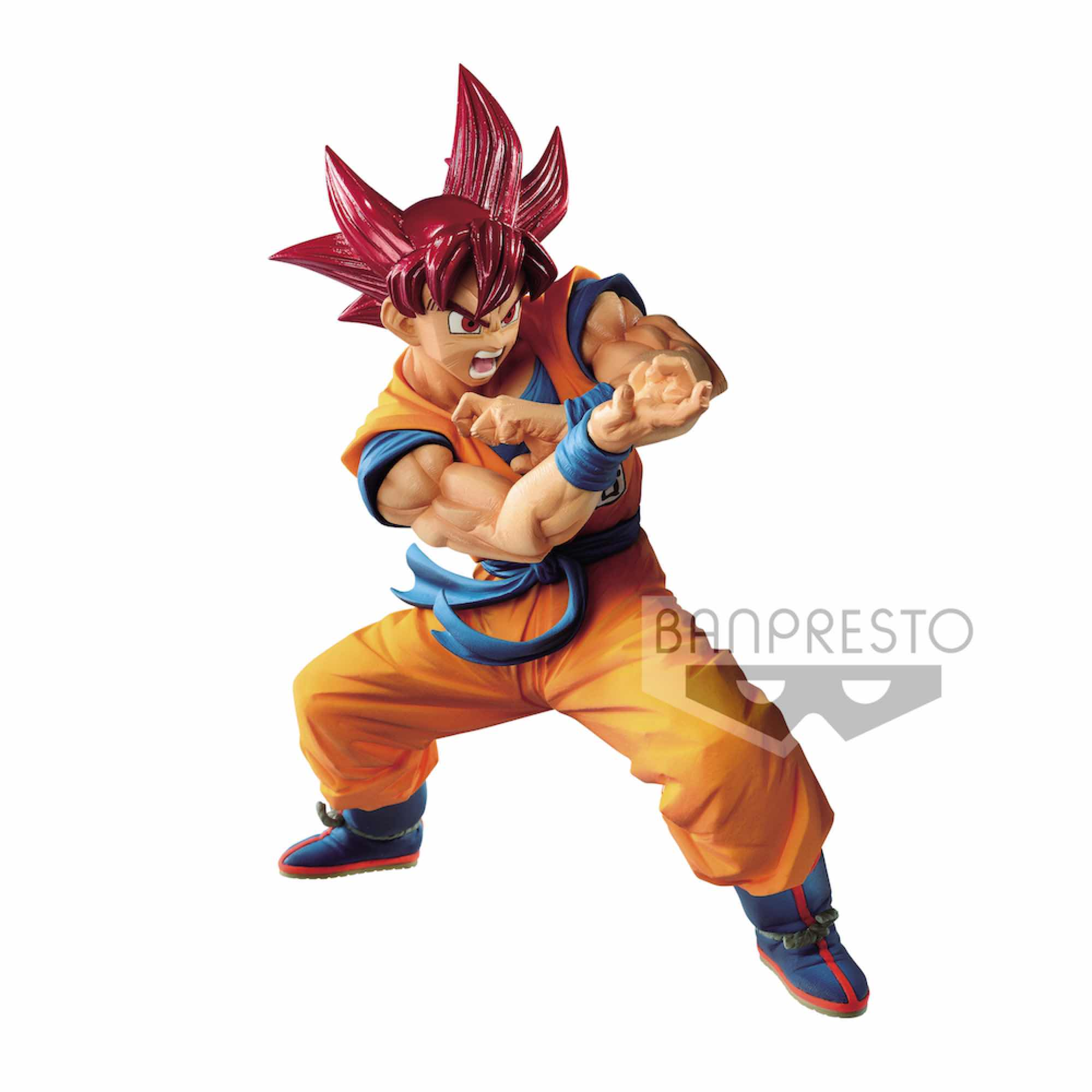 SUPER SAIYAN GOD SON GOKU SPECIAL IV FIGURE 17 CM DRAGON BALL SUPER BLOOD OF SAIYANS