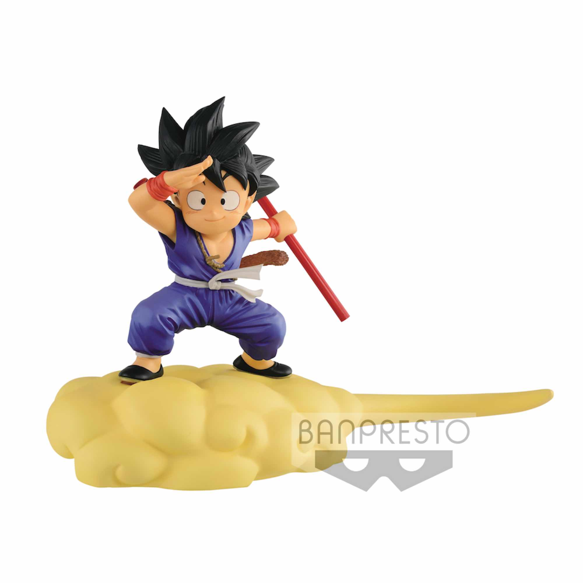 SON GOKU FLYING KINTOUN VERSION B BLUE SUIT FIGURA 13 CM DRAGON BALL