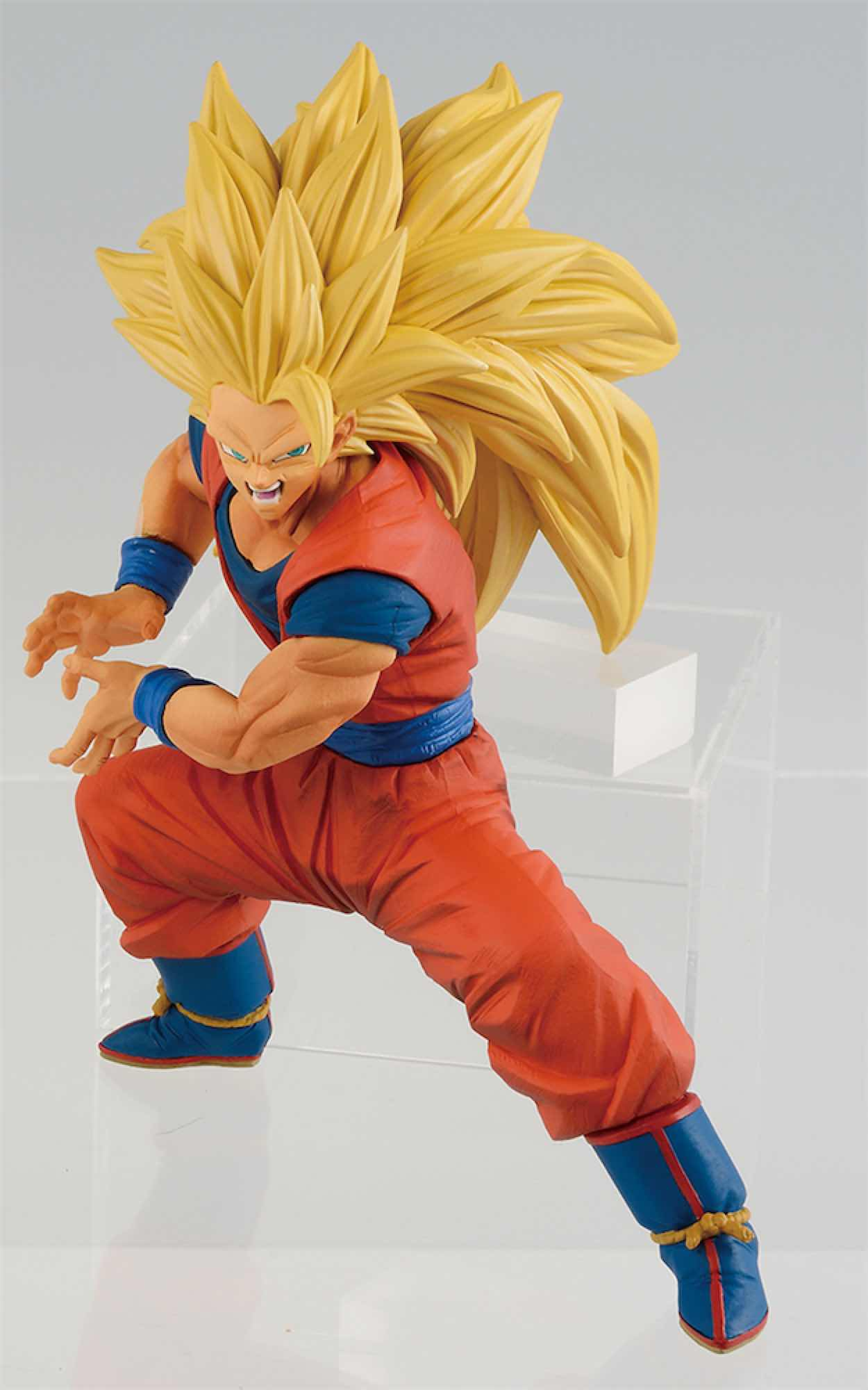 SUPER SAIYAN 3 SON GOKU FIGURA 14 CM DRAGON BALL SUPER SON GOKU FES!!