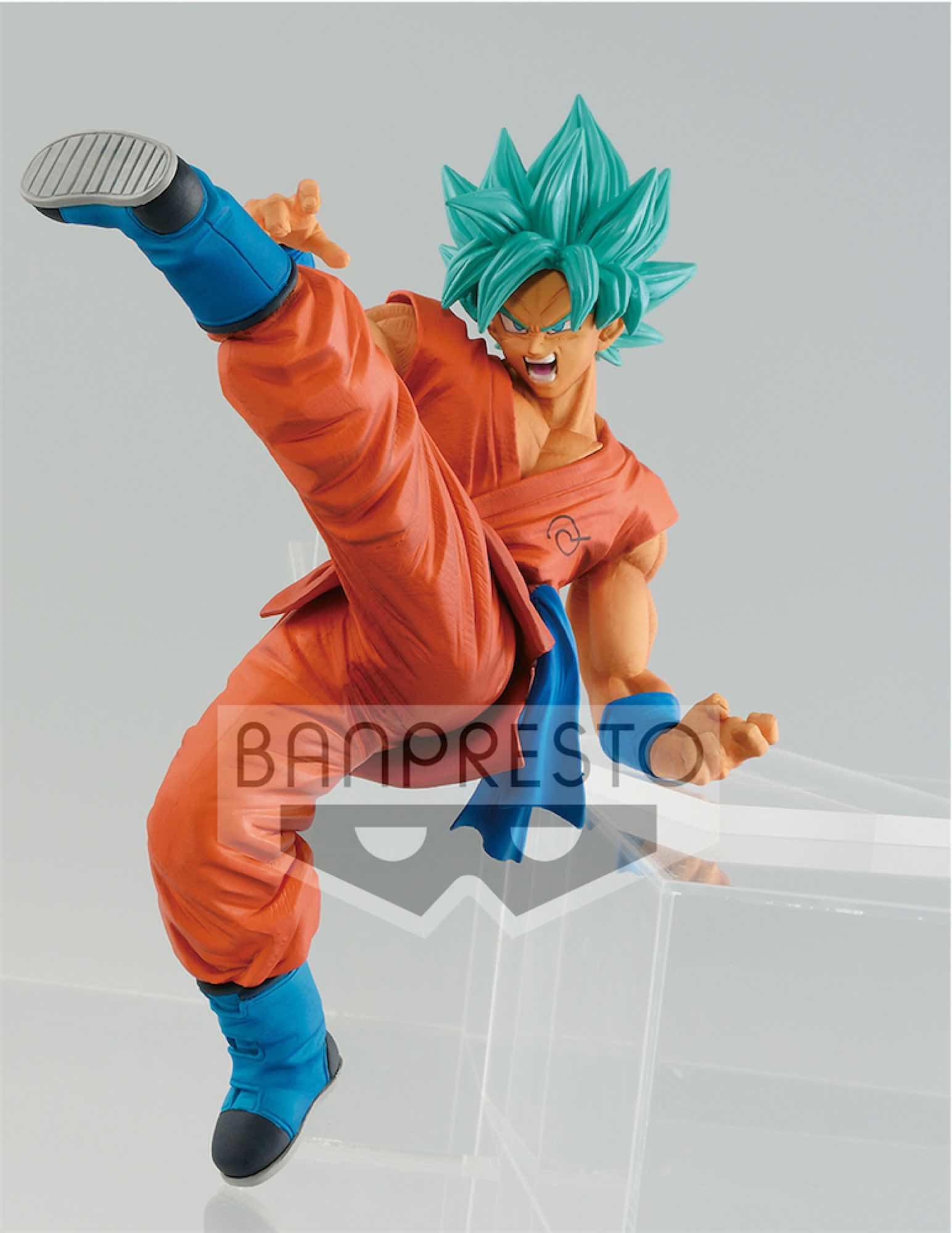 SUPER SAIYAN GOD SUPER SAIYAN SON GOKU FIGURA 19 CM DRAGON BALL SUPER SON GOKU FES!!