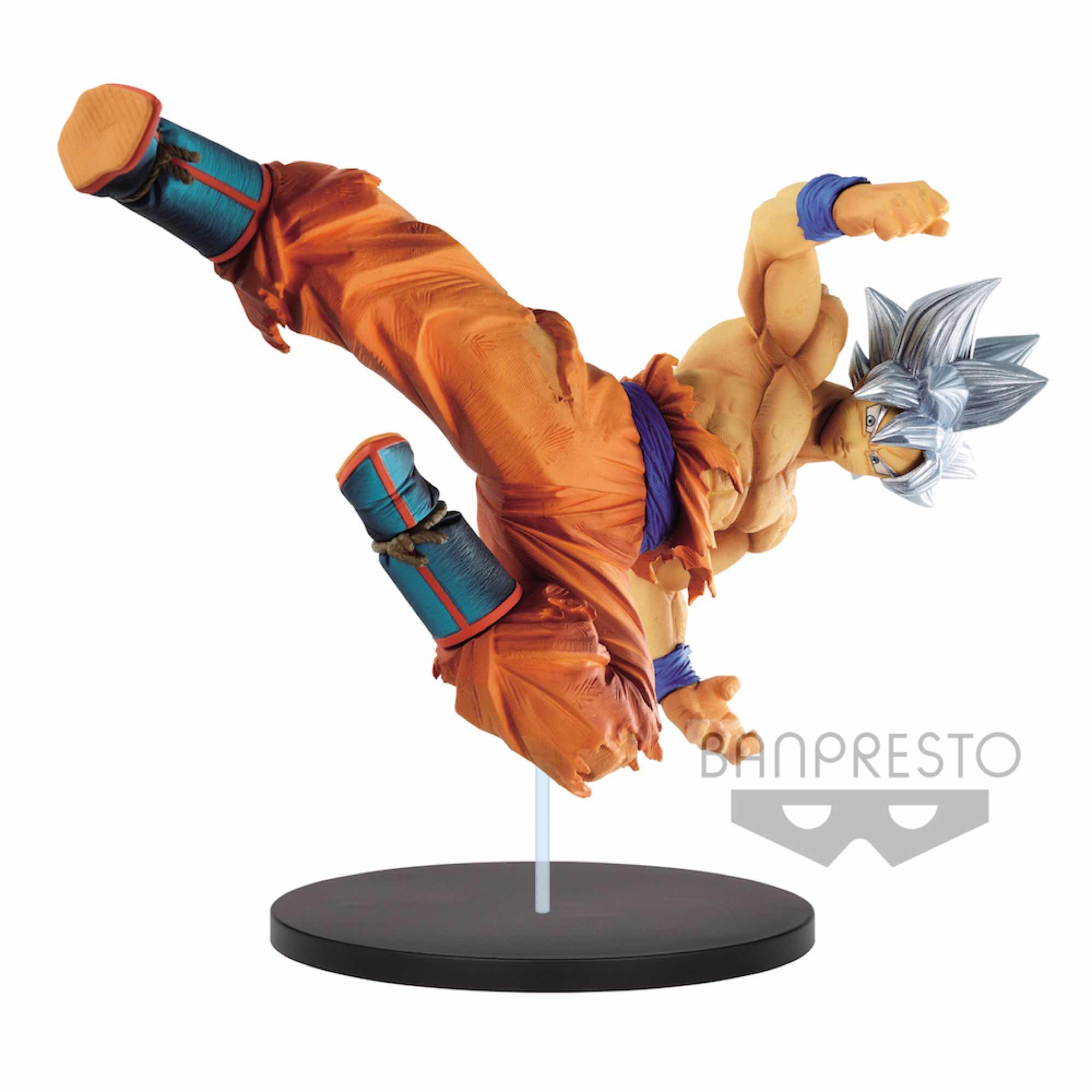 SON GOKU STYLE A ULTRA INSTINCT FIGURA 20 CM DRAGON BALL SUPER SON GOKU FES!! VOL.8