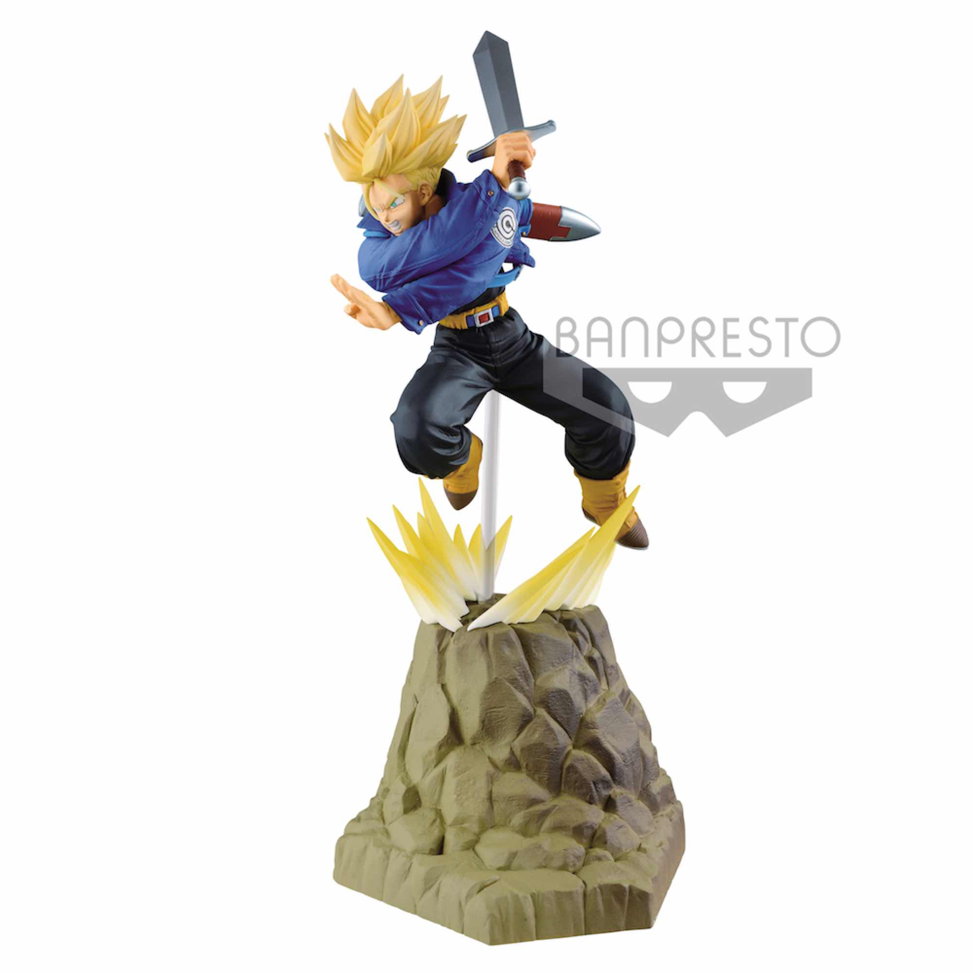 TRUNKS FIGURA 15 CM DRAGON BALL Z ABSOLUTE PERFECTION