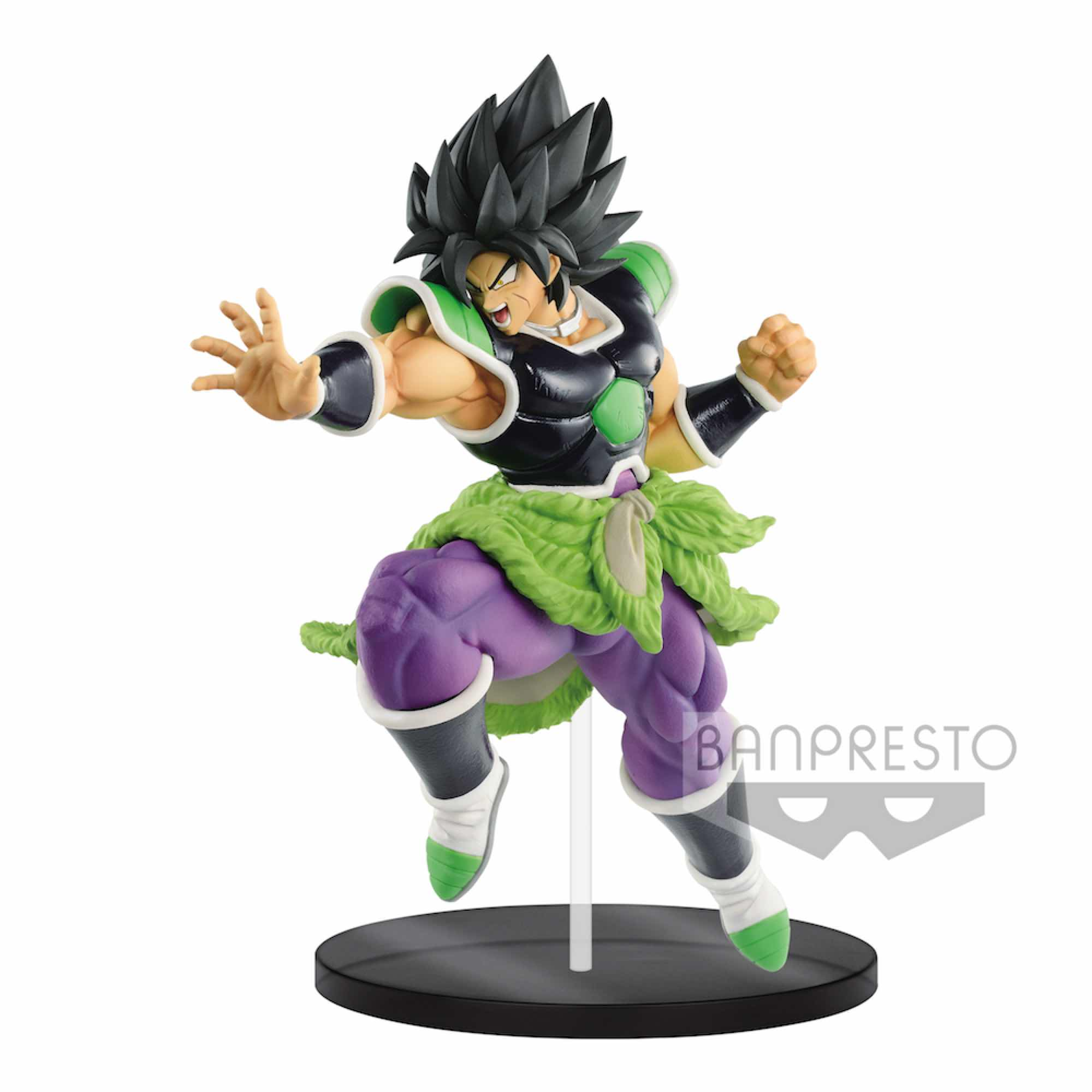 BROLY NEW MOVIE FIGURA 23 CM DRAGON BALL SUPER ULTIMATE SOLDIERS