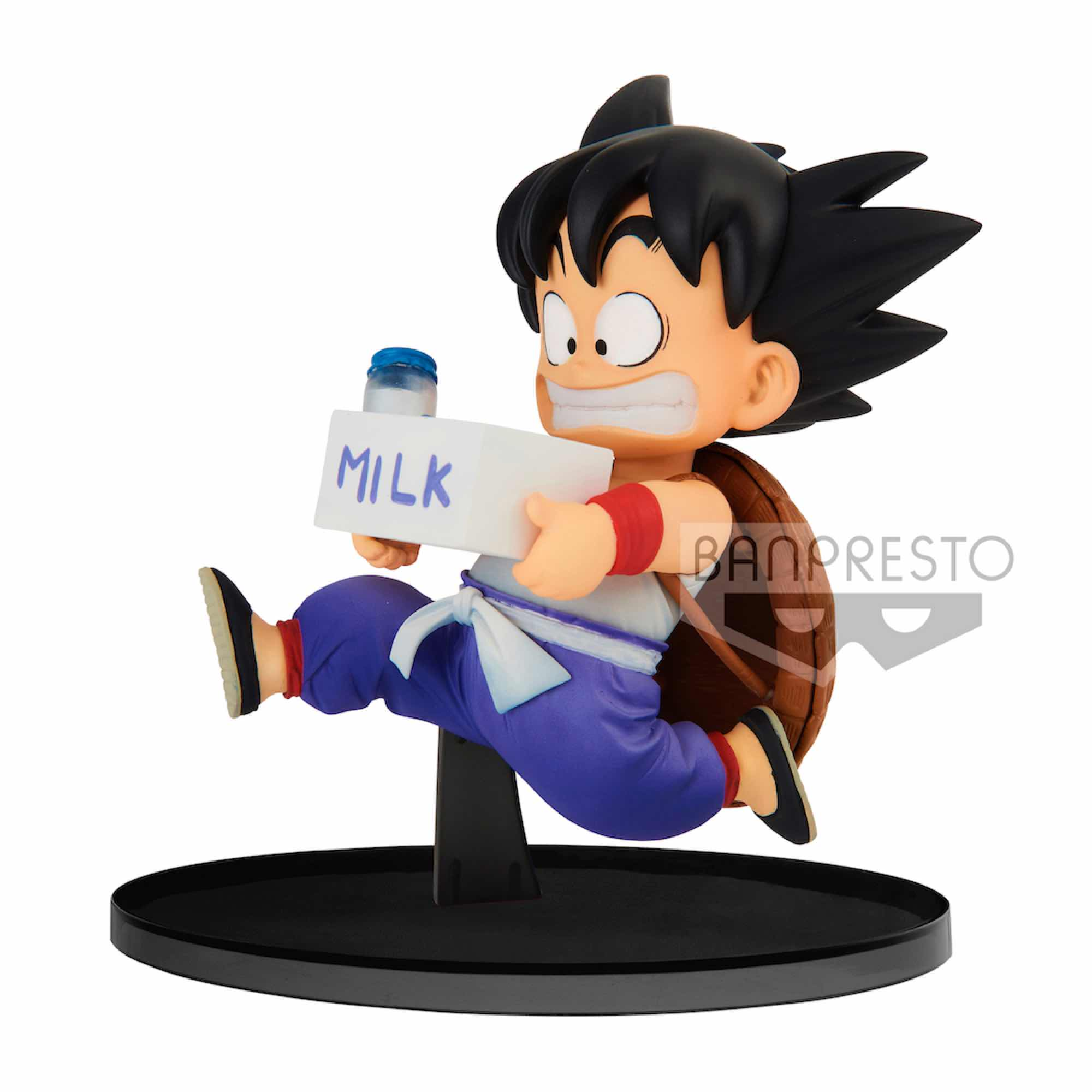 SON GOKU MILK FIGURA 11 CM DRAGON BALL Z WORLD FIGURE COLOSSEUM2 VOL. 7