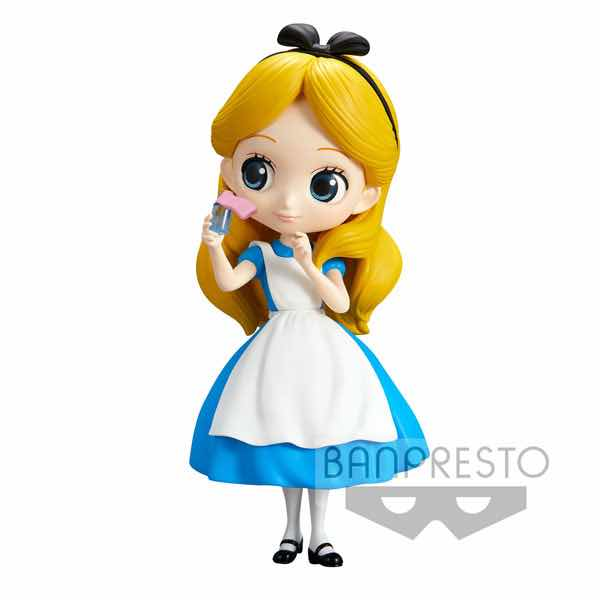 ALICE FIGURA 14 CM Q POSKET DISNEY CHARACTERS NORMAL COLOR VER