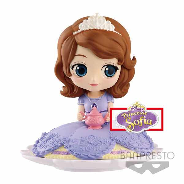 SOFIA FIGURA 9 CM Q POSKET DISNEY CHARACTERS NORMAL COLOR VER