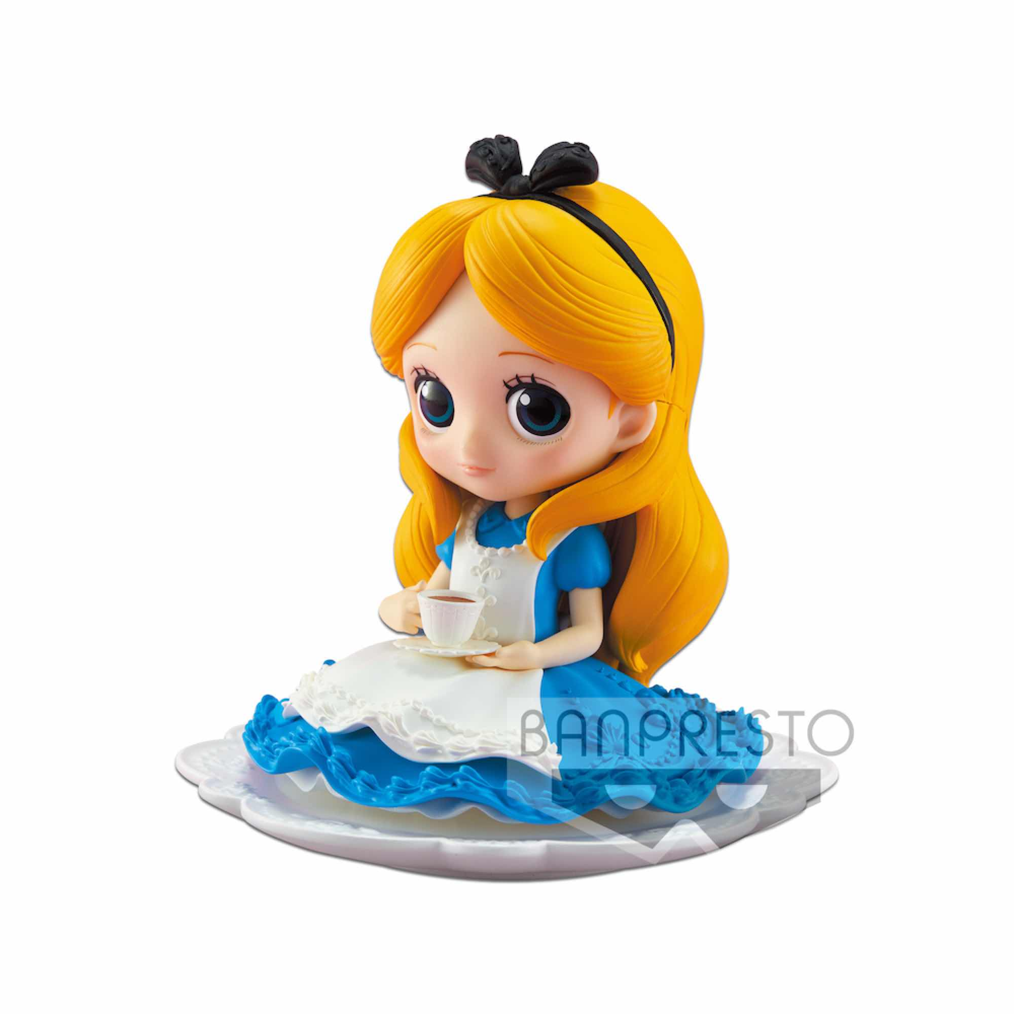 ALICE FIGURA 9 CM Q POSKET DISNEY CHARACTERS NORMAL COLOR VER SUGIRLY