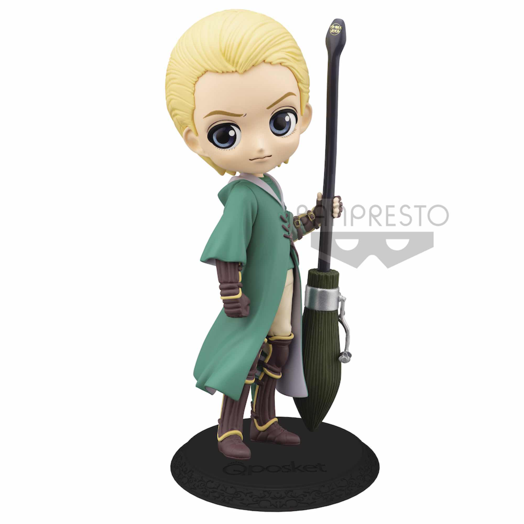 DRACO MALFOY QUIDDITCH VER. B FIGURA 14 CM HARRY POTTER Q POSKET
