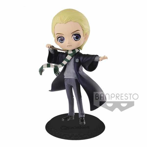 DRACO MALFOY COLOR PEARL FIGURA 14 CM HARRY POTTER Q POSKET