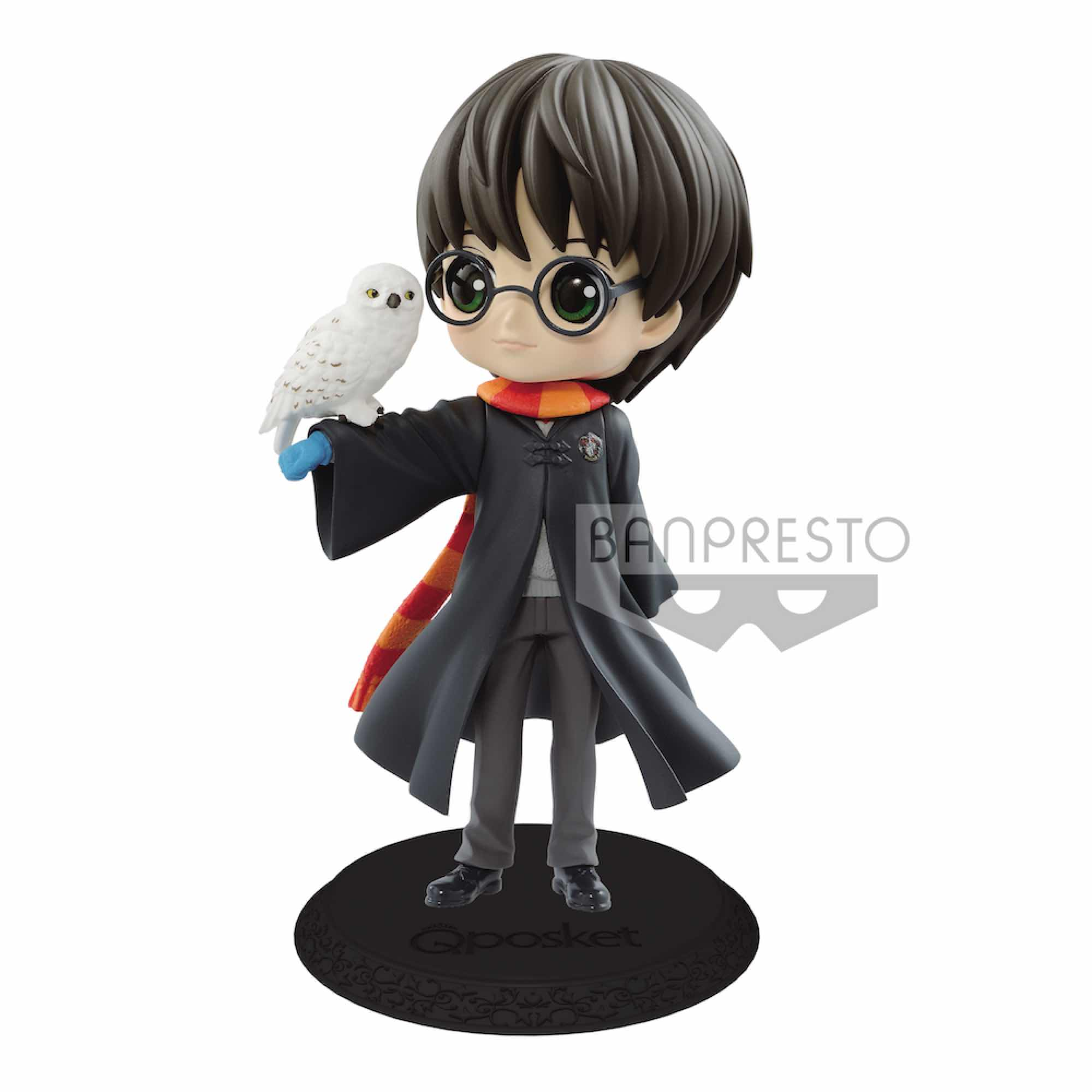 HARRY POTTER CON HEDWIG COLOR CLARO VERSION FIGURA 14 CM HARRY POTTER Q POSKET