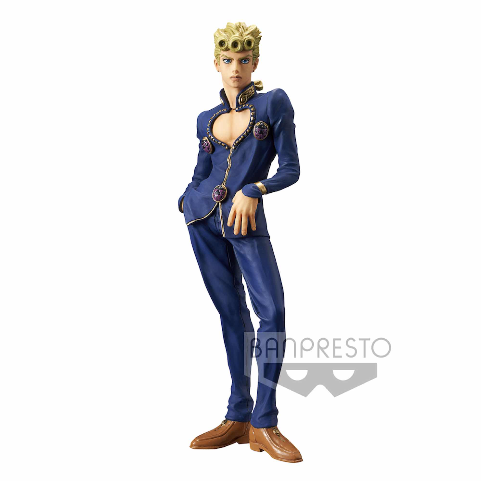 GIORNO GIOVANNA FIGURA 20 CM JOJO'S BIZARRE ADVENTURE TBA GOLDEN WIND