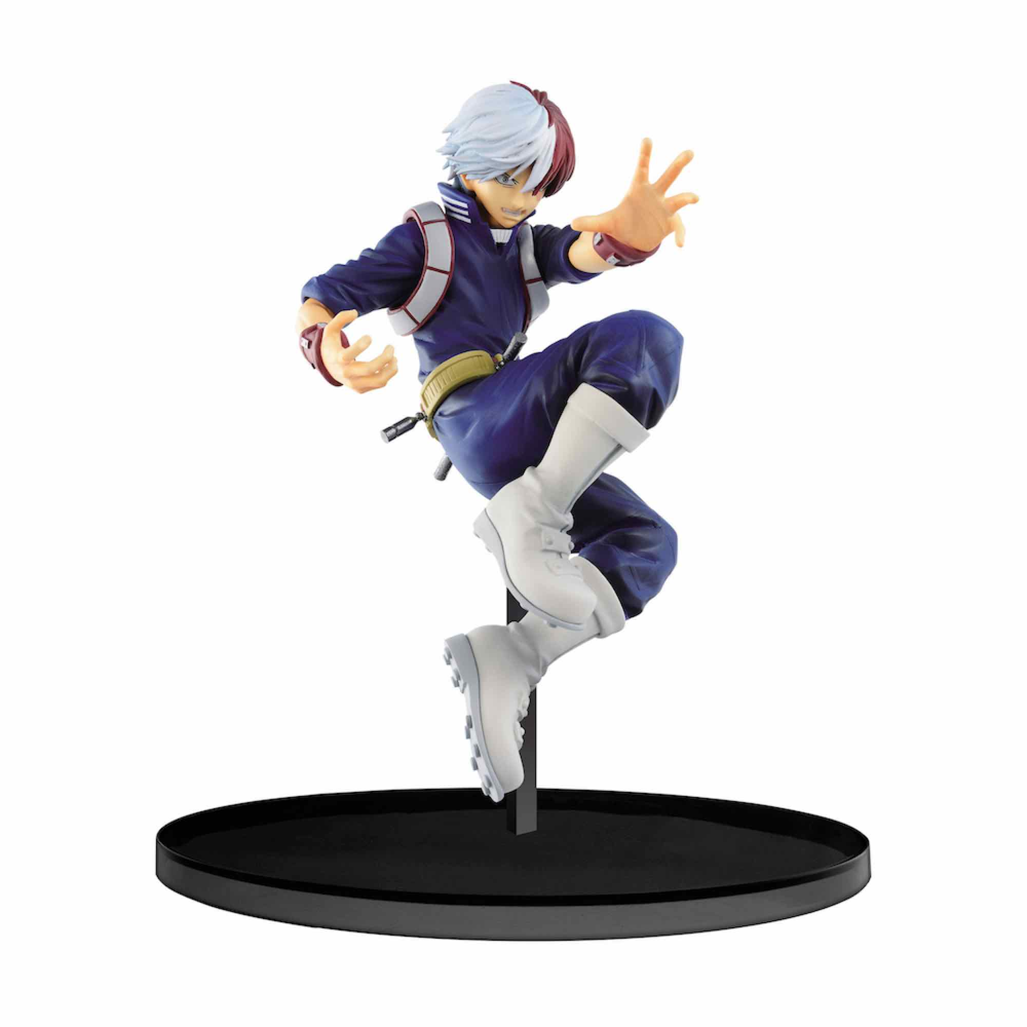 SHOTO TODOROKI FIGURA 13 CM MY HERO ACADEMIA BANPRESTO FIGURE COLOSSEUM VOL. 3