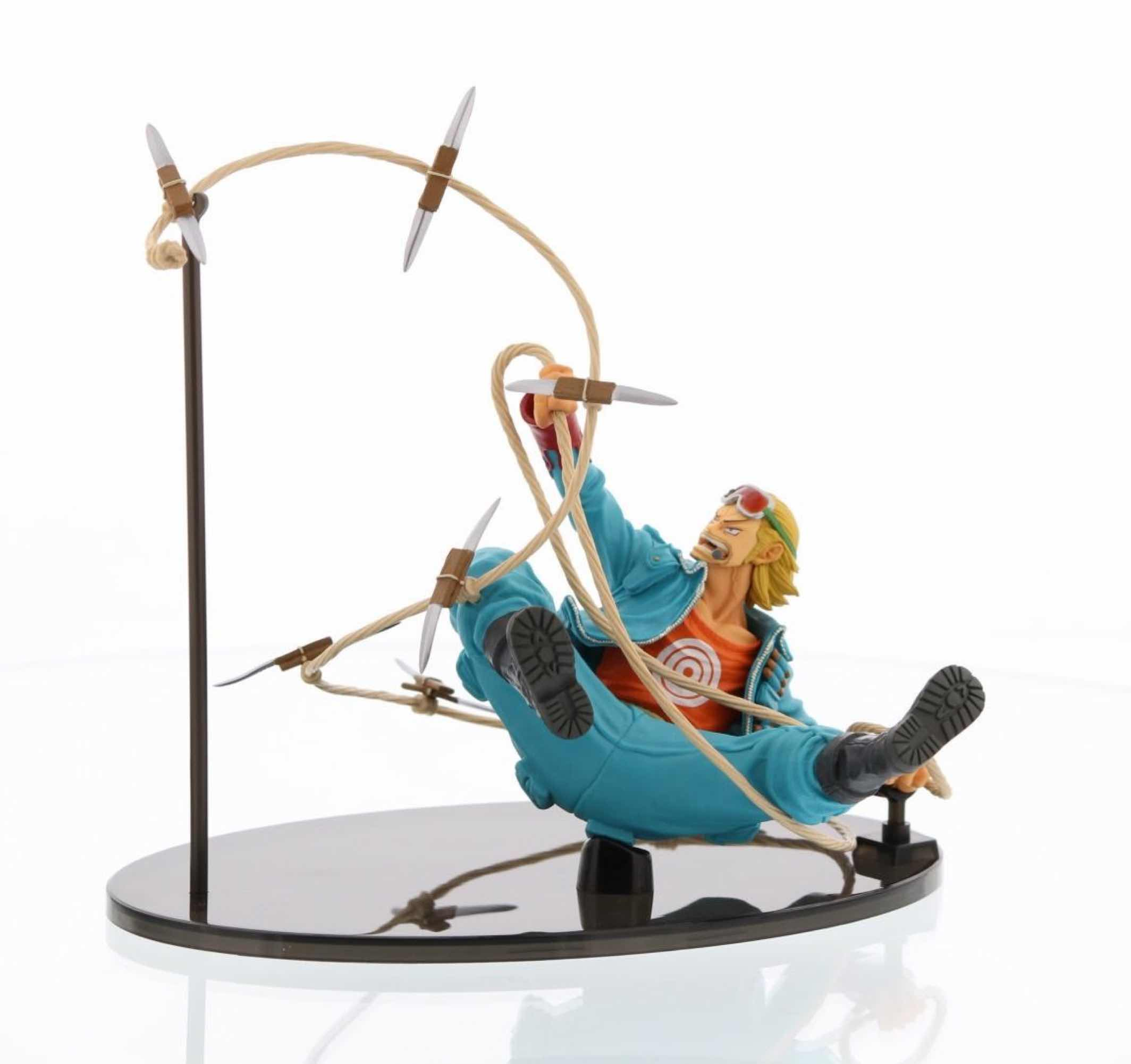 PAULY FIGURA 9 CM ONE PIECE SCULTURE BIG ZOUKEIO 4 VOL 8