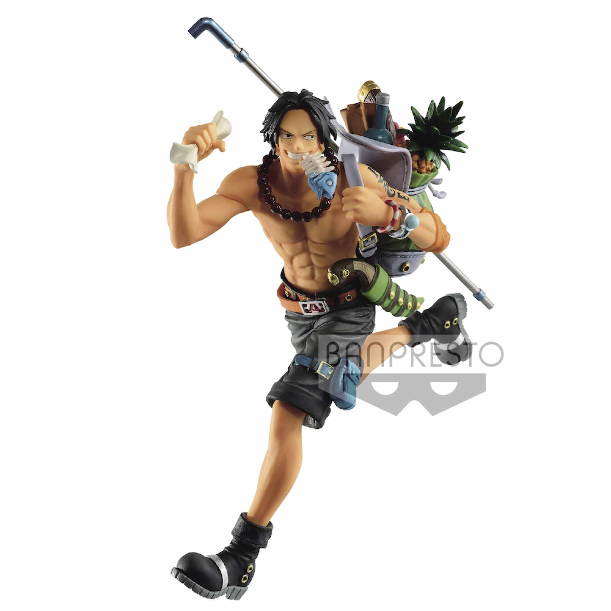 PORTGAS D. ACE VER. B FIGURA 14 CM ONE PIECE THE THREE BROTHERS