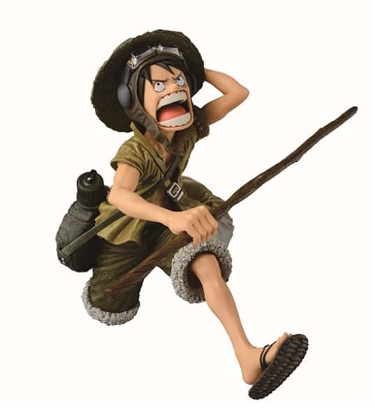 MONKEY D. LUFFY SPECIAL COLORING VERSION FIGURA 16 CM ONE PIECE SCULTURES