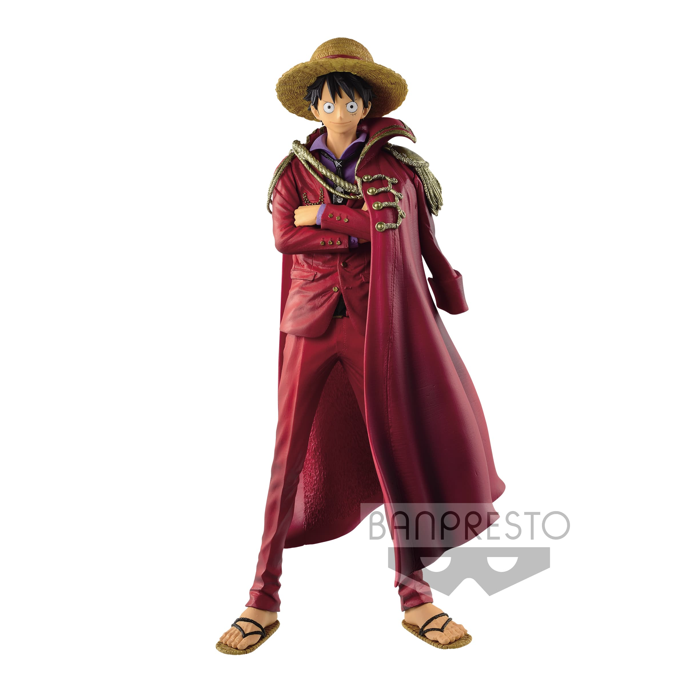 MONKEY D LUFFY 20TH ANNIVERSARY DESIGN FIGURA 25 CM ONE PIECE THE KING OF ARTIST