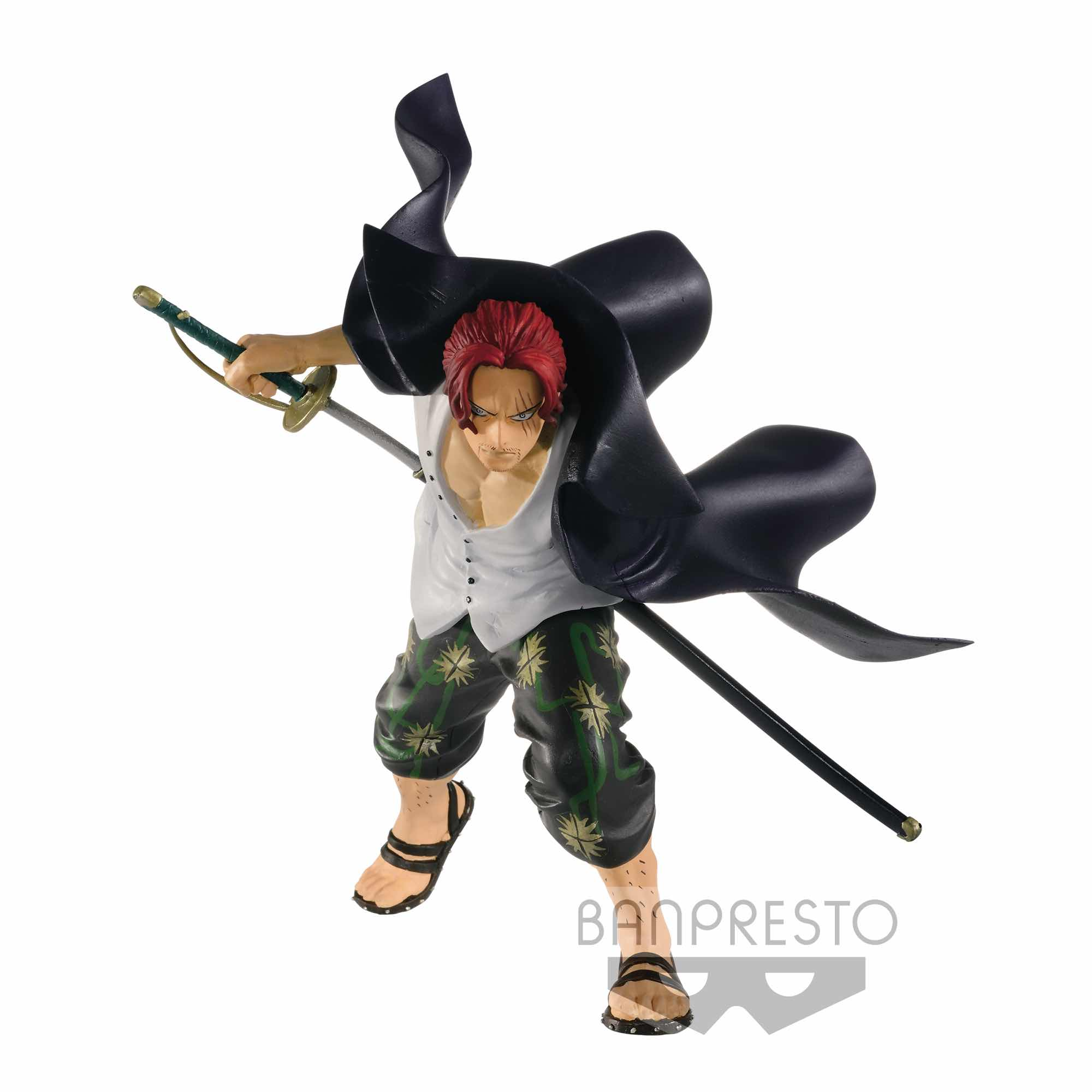 SHANKS VOL.2 FIGURA 12 CM ONE PIECE SWORDSMEN