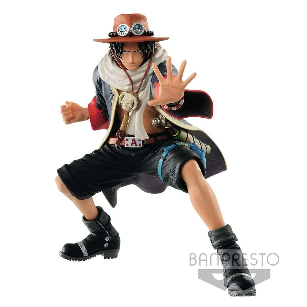THE PORTGAS D. ACE III FIGURA 20 CM ONE PIECE THE KING OF ARTIST