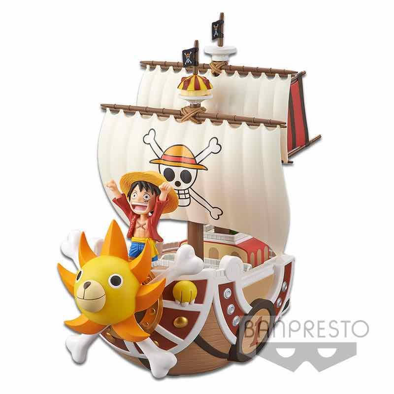 THOUSAND SUNNY PIRATE SHIP FIGURA 19 CM ONE PIECE MEGA WCF