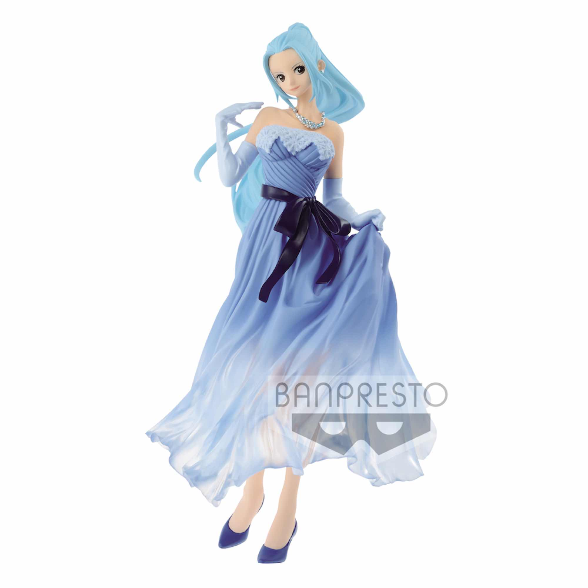 NEFELTARI VIVI BRIDE VERSION B BLUE FIGURA 23 CM ONE PIECE LADY EDGE WEDDING