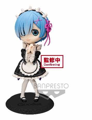 REM VESTIDO NEGRO VER. A FIGURA 14 CM RE:ZERO STARTING LIFE IN ANOTHER WORLD Q POSKET