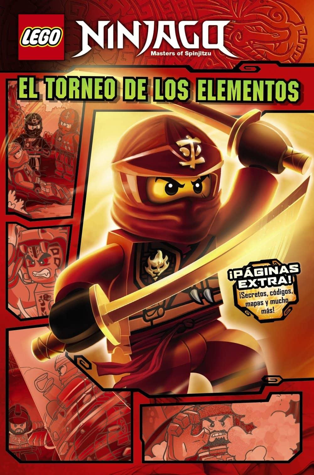LEGO NINJAGO. EL TORNEO DE LOS ELEMENTOS