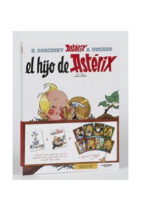 PACK ASTERIX: EL HIJO DE ASTERIX Y COMO OBELIX SE CAYO EN LA MARMITA DEL DRUIDA