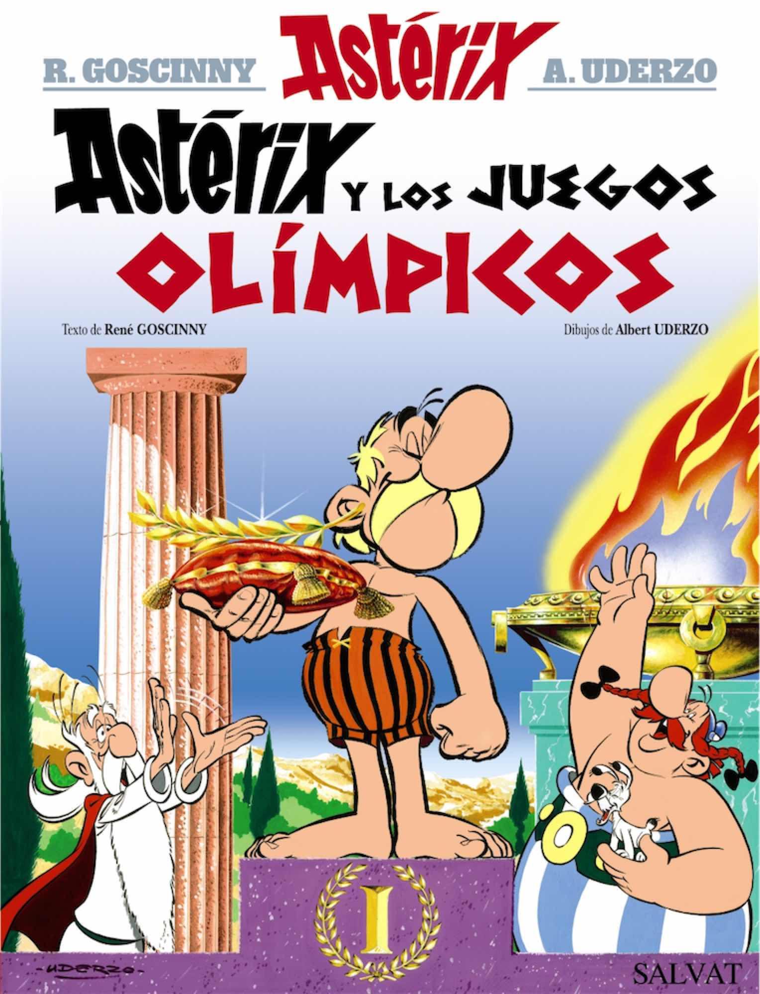 ASTERIX LA COLECCION CLASICA: ASTERIX Y LOS JUEGOS OLIMPICOS