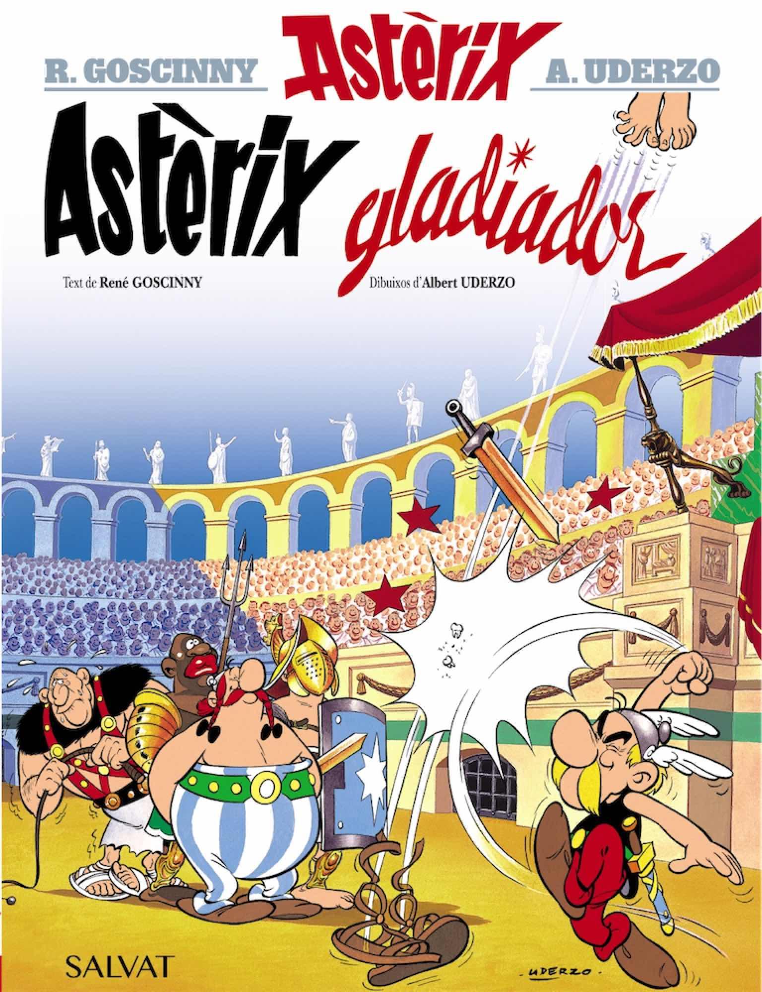 ASTERIX 04: GLADIADOR (CATALAN)