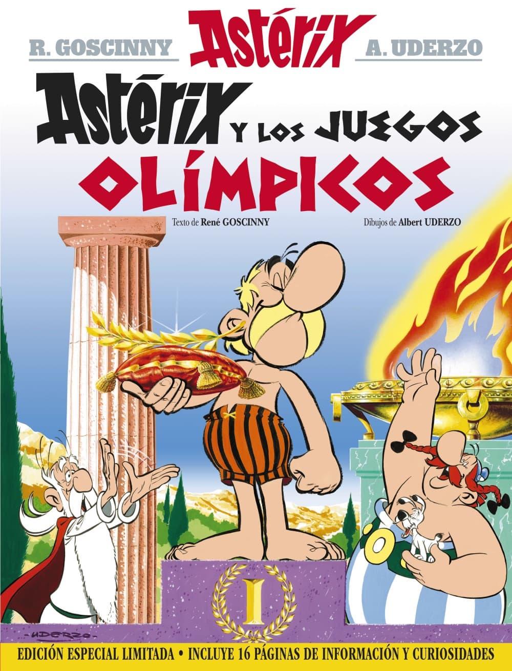 ASTERIX Y LOS JUEGOS OLIMPICOS (EDICION ESPECIAL LIMITADA)