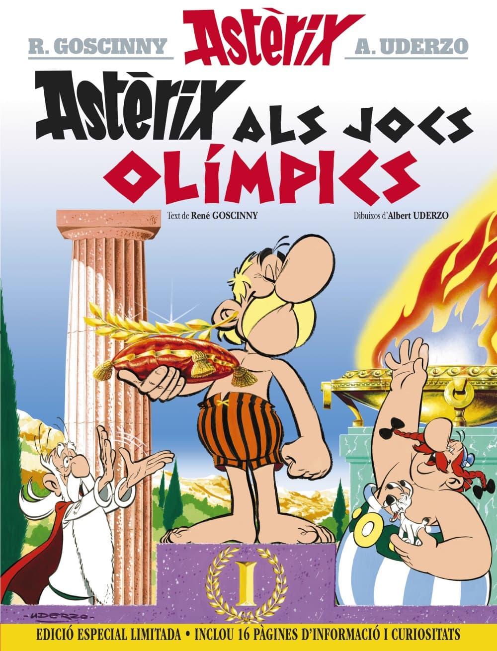 ASTERIX ALS JOCS OLIMPICS (EDICIO ESPECIAL LIMITADA) CATALAN