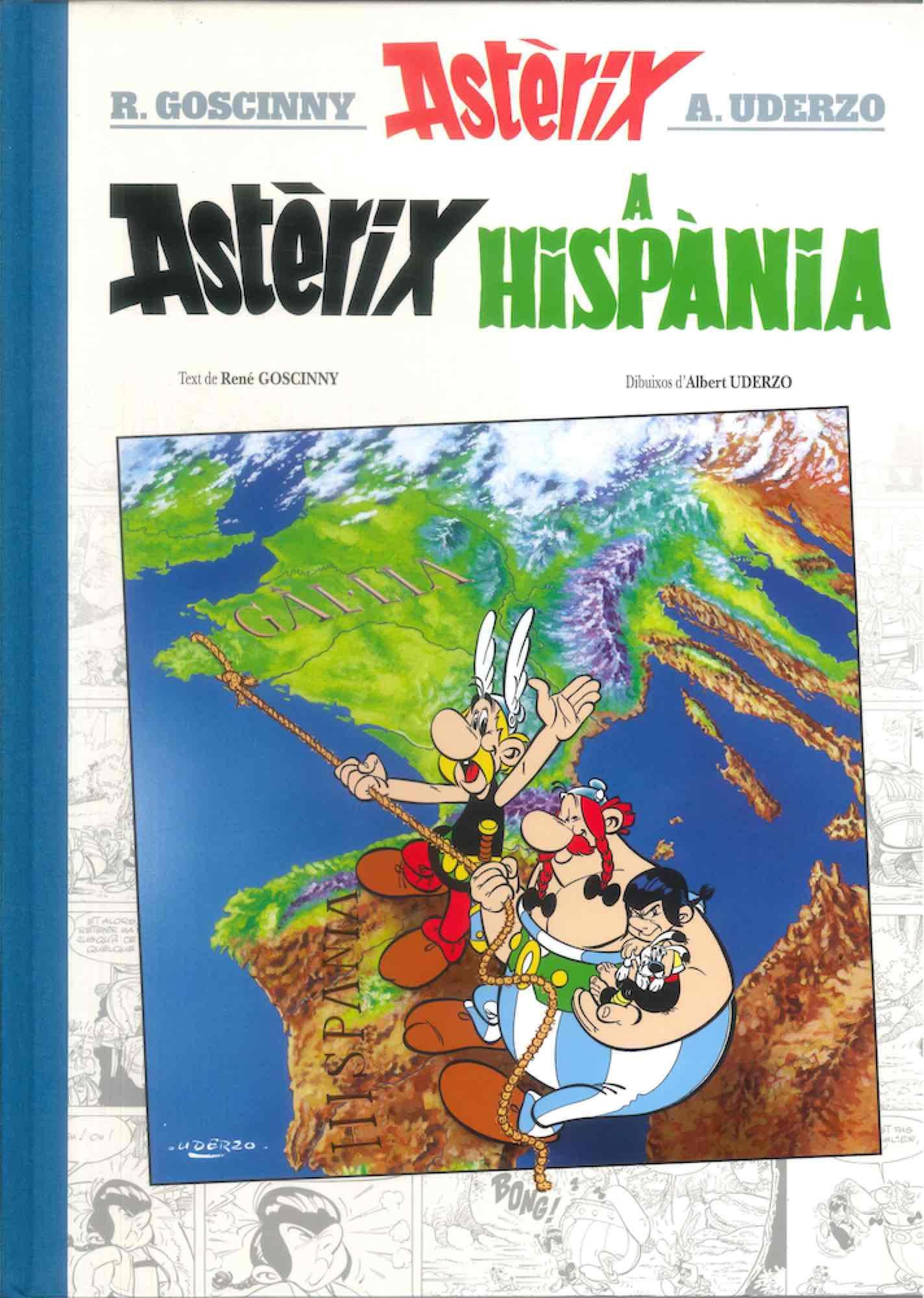 ASTERIX. A HISPANIA (EDICIO LUXE, CATALAN)